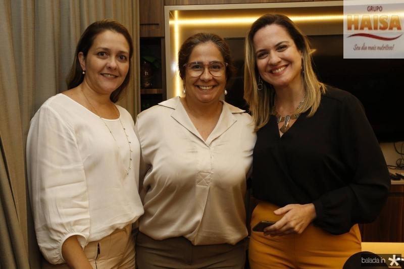 Raquel Vasconcelos, Ana Maia Xavier e Juliana Guimaraes