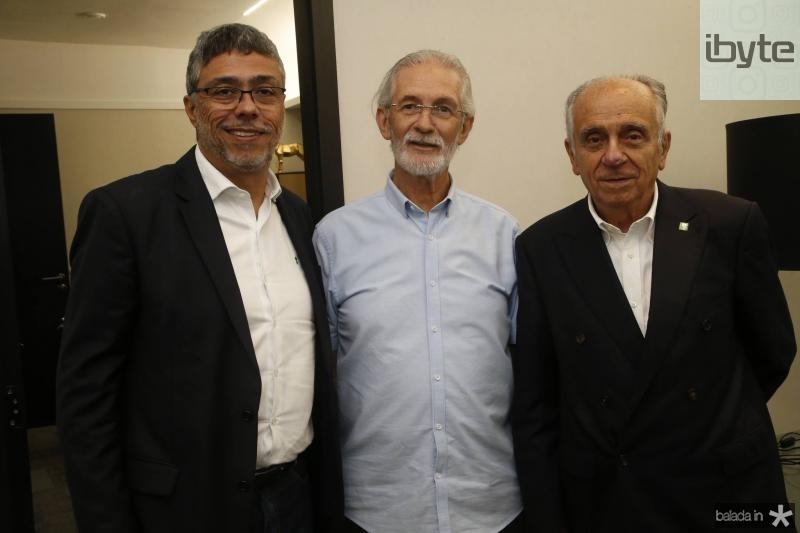 Ricardo Petral, Dinalvo Diniz e Joao Guimaraes