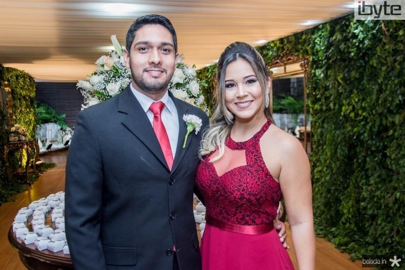 Everardo Maia e Isabele Mota