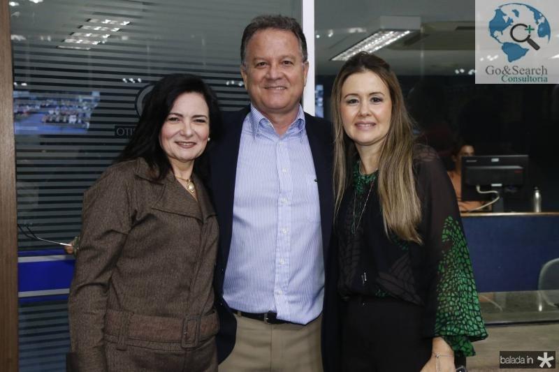 Ieda Cavalcante, Ricardo Castelo e Liana Fujita