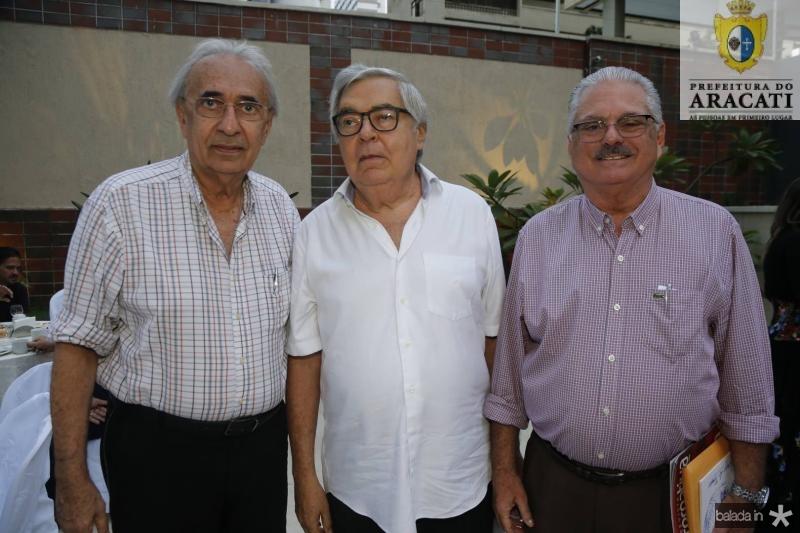Joao de Deus Costa Lima, Roberto Farias e Victor Frota