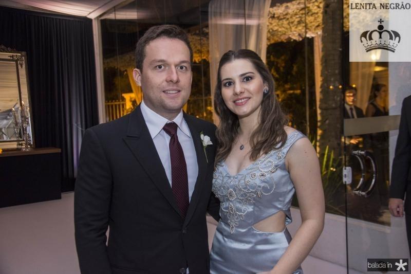 Igor Borges e Sara Borges