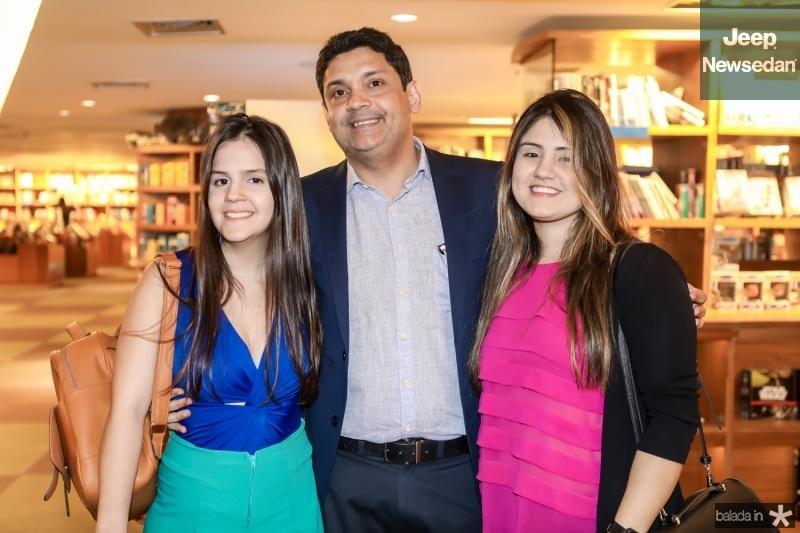 Vanessa Cysne, Bruno Queiroz e Nichole Emmily