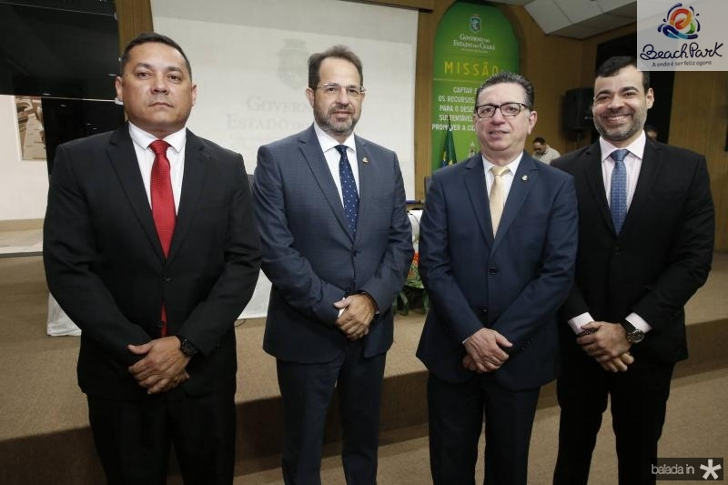 Carlos Viana, Joao Milton, Flavio Juca e Bona Carneiro