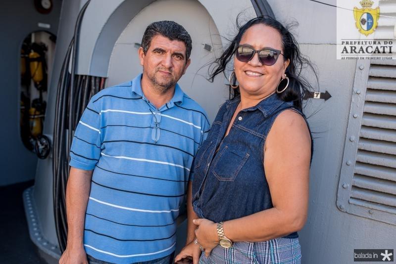 Antonio Valdir e Rita Maria