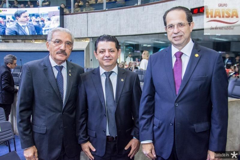 Walter Cavalcante,  Nisio Costa e Joao Milton