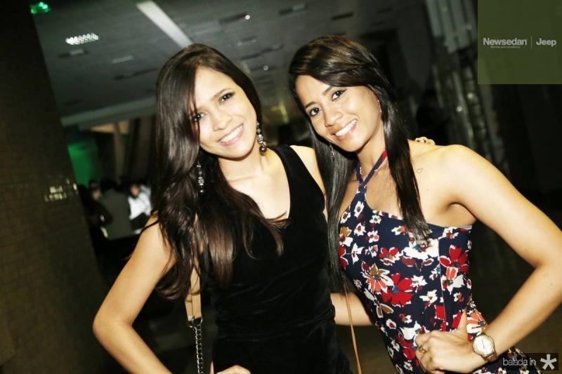 Stelita Hanna e Cassia Camila