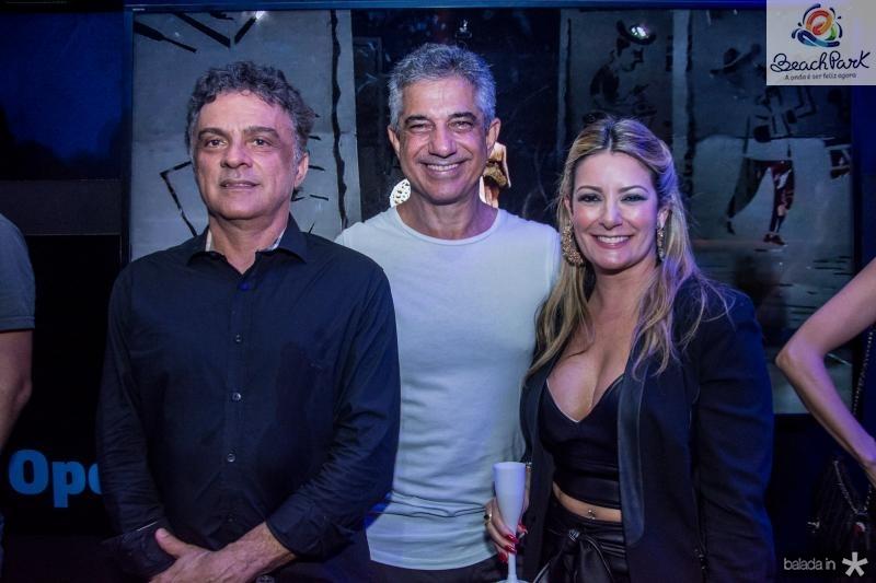 Marcos Frota, Jose Gentil e Tatiana Luna