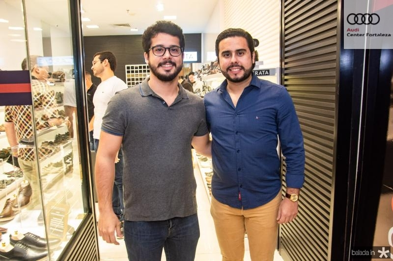 Rafael Fujita e Rodrigo Nobrega