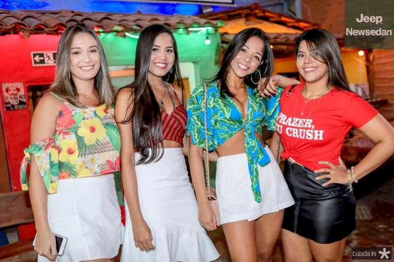 Lais Martins, Geisle Lima, Virna Silva e Fernanda Lima