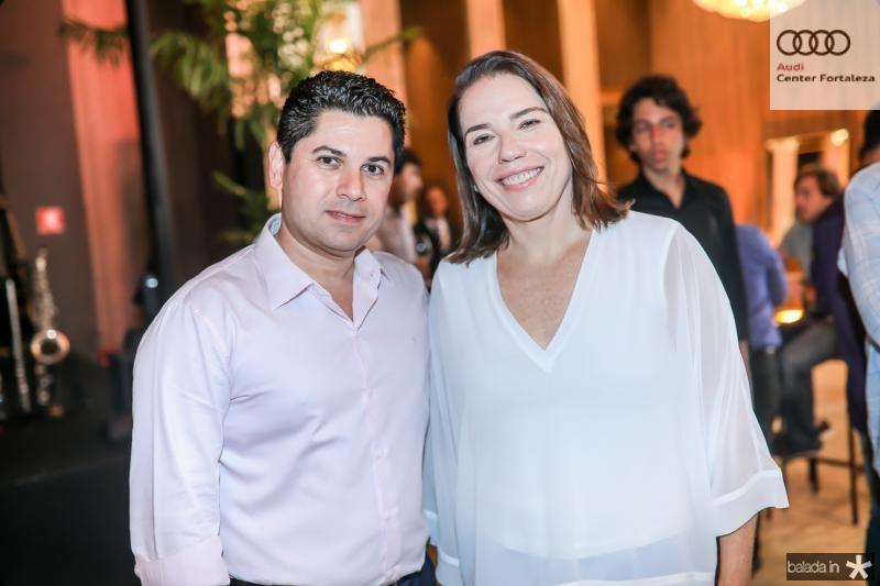Pompeu Vasconcelos e Denise Bezerra