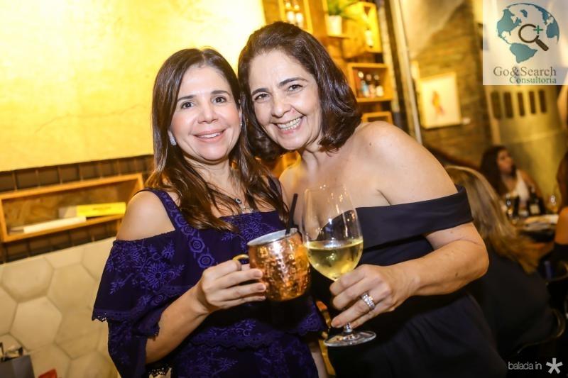 Maria Lucia Negrao e Geana Studart