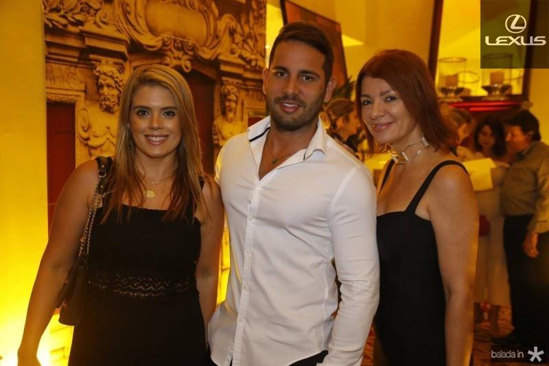 Leticia Studart, Veri Bessa e Susane Farias