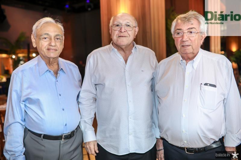 Leorne Belem, Luis Marques e Roberto Macedo