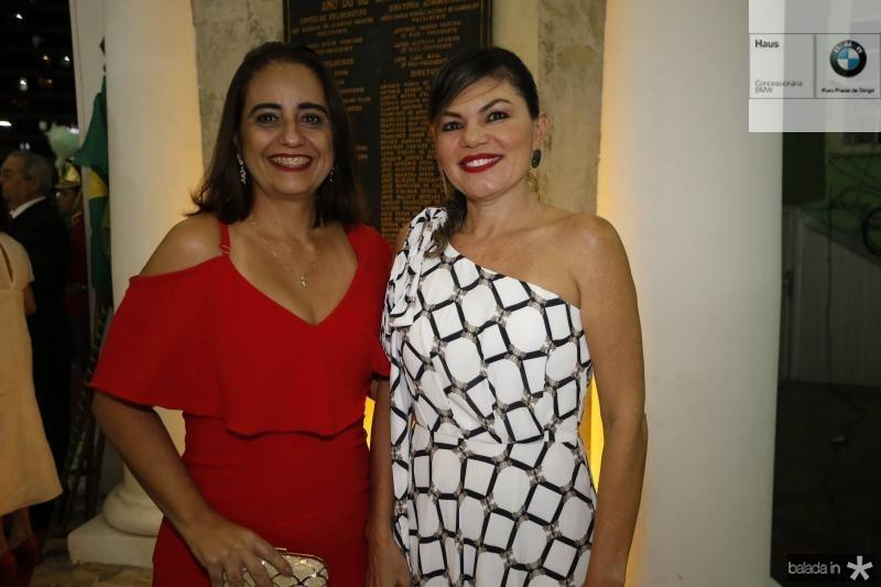 Rita Colares e Danielle Taumaturgo