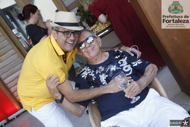 Andre Vercosa e Jose Alencar