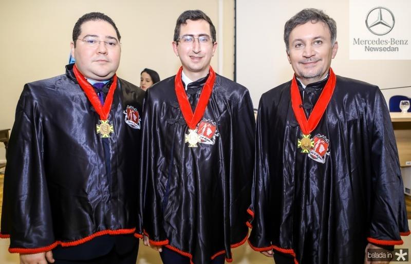 Carlos Paz, Roberto Victor Ribeiro e Rogerio Brito