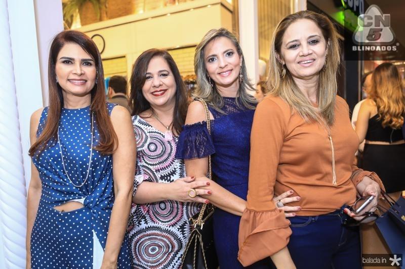 Lorena Pouchain, Martinha Assunçao, Michele Aragao e Silvia Morais