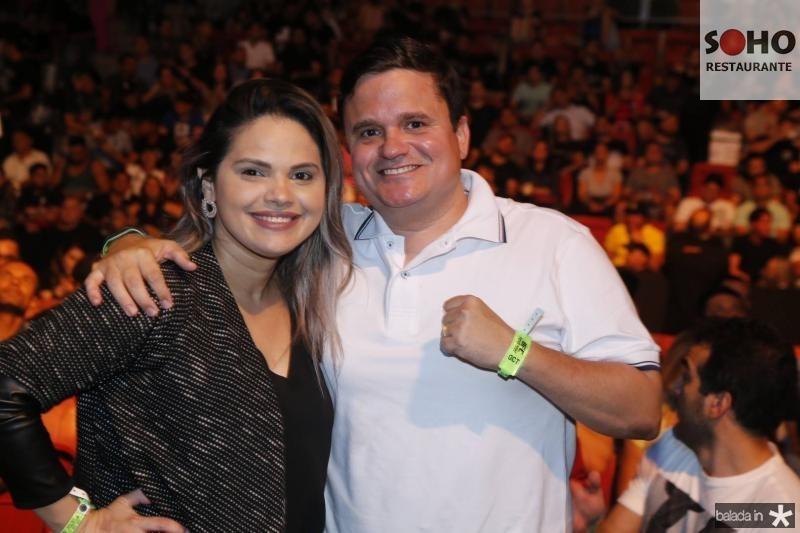 Marcela Souza e Isaac melo