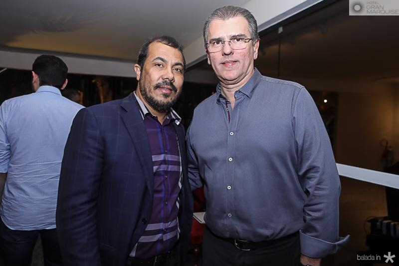 Antonio Almeida e Randal Pompeu