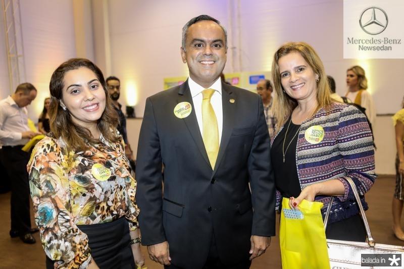 Samyrames Alves, Marcelo Mota e Renata Rebouças