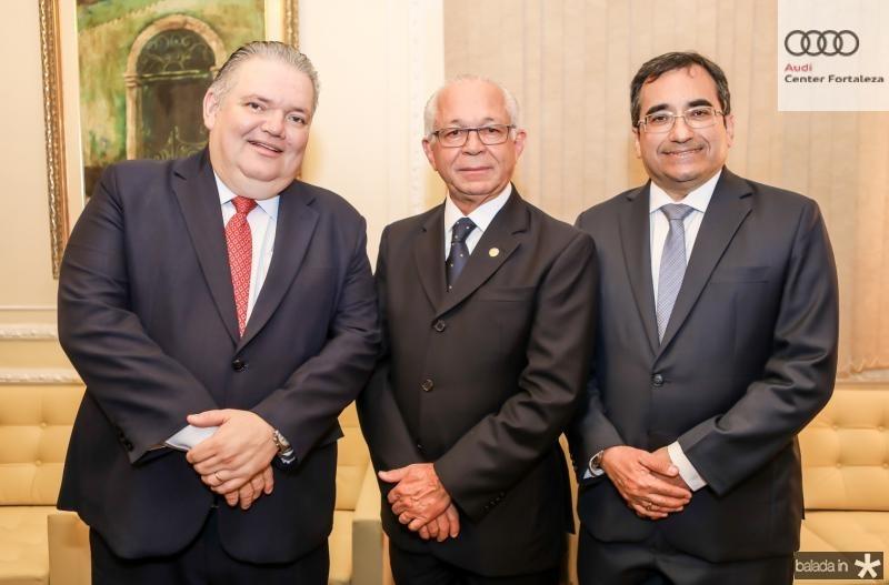 Jorge Medeiros, Brito Pereira e Jardson Cruz