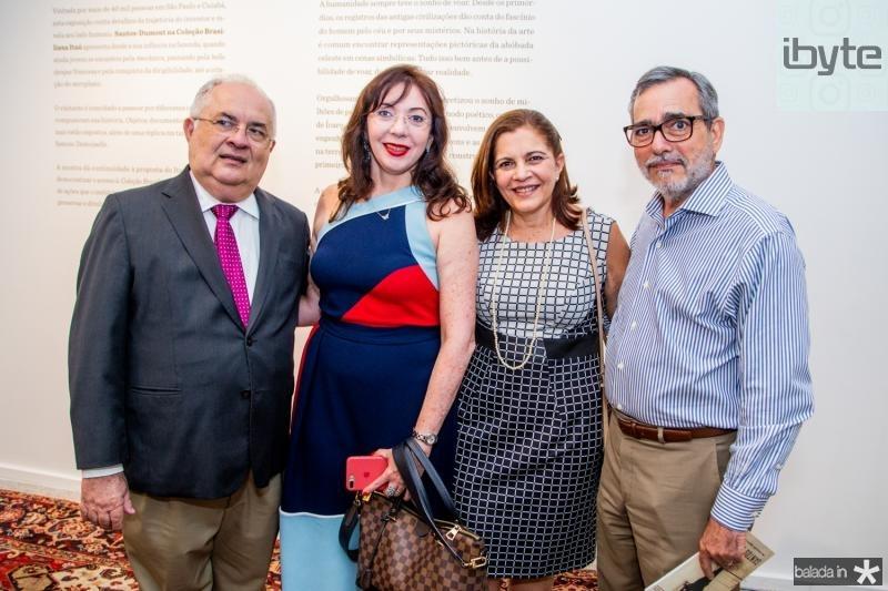Philomeno, Gina Pompeu, Rosa e Roberio Braga