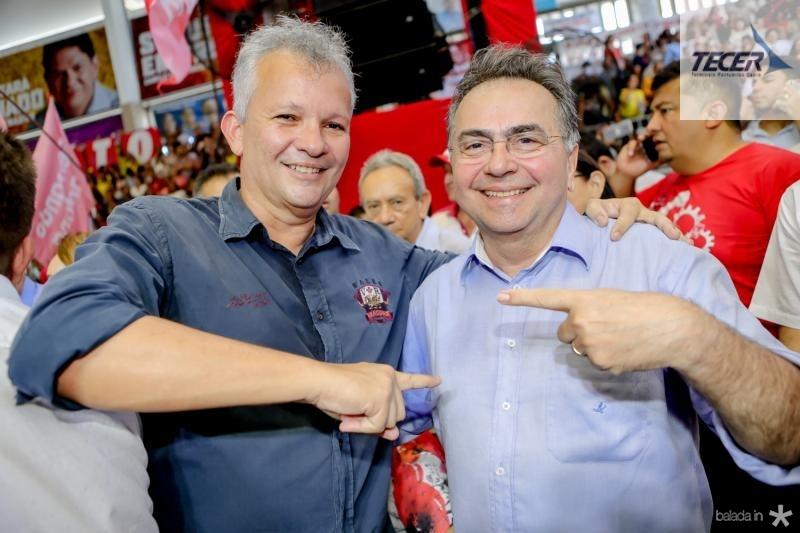 Andre Figueiredo e Leonidas Cristino