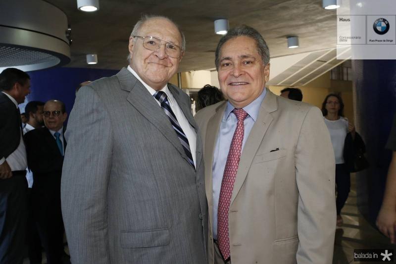 Luiz Marques e Luiz Pontes