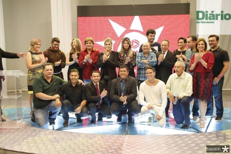 Apresentadores da TV Diario