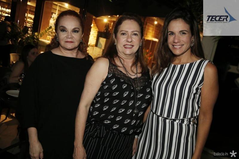 Lisieux Brasileiro, Cristina Aragao e Ana Virginia Martins
