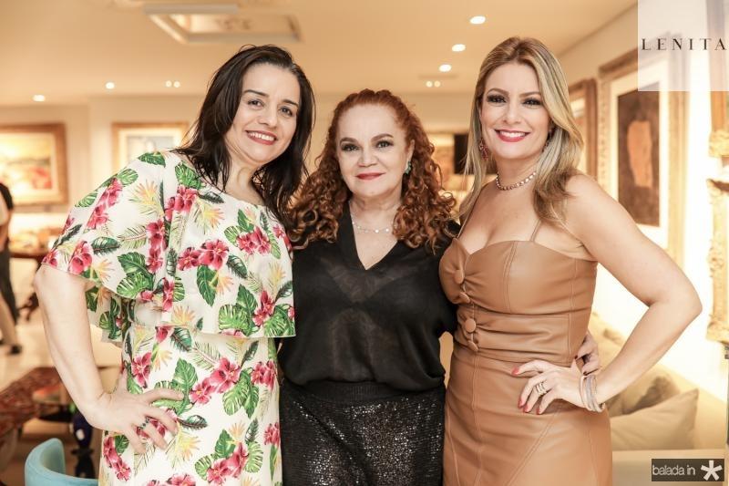 Lia Freire, Lisieux Brasileiro e Tatiana Luna