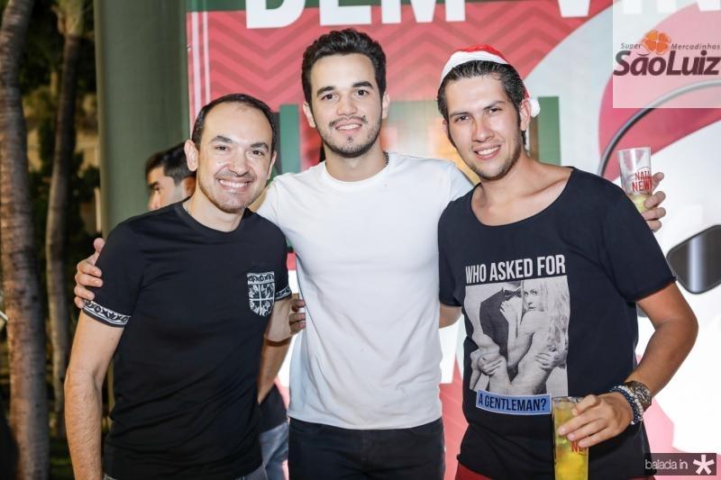 Bruno Menezes, Wesley Aguiar e Joao Baltazar