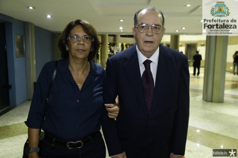 Fatrima Goncalves e Regis Barroso