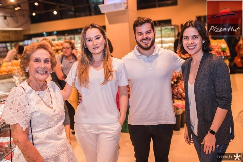 Emidia, Jully Garcia, Arthur Oquendo e Joana Ramalho