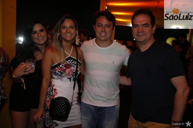 Mariana Pompeu, Bruna Gurgel, Rafael Barros e Gontijo Pinto