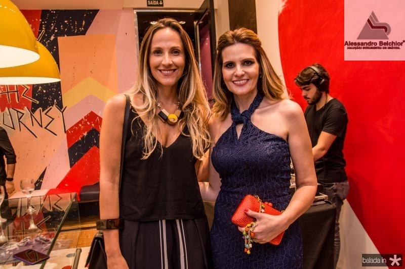 Amanda Medrado e Viviane Goyanna Bayma