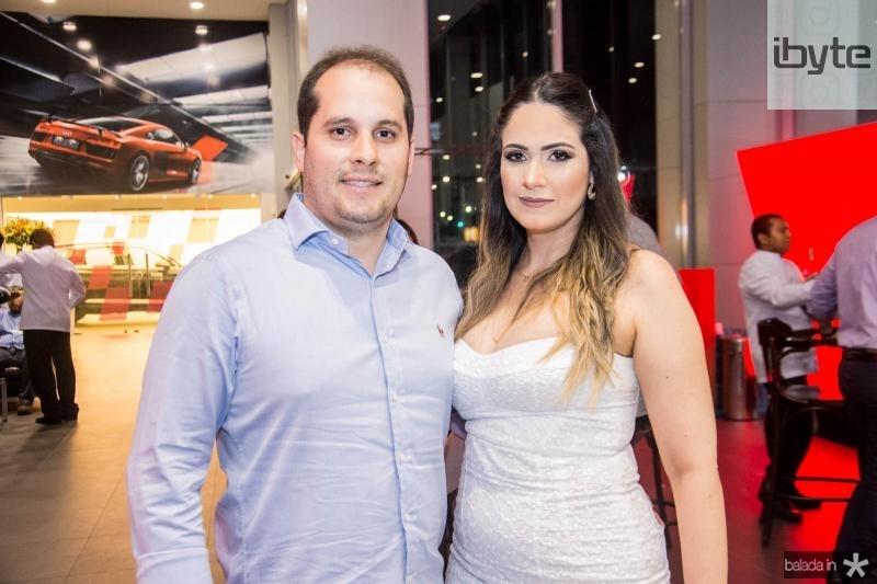 Emardes Junior e Patricia Vieira