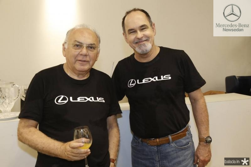 Pedro Leite e Antonio Marques