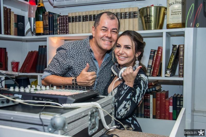 Gilvan Magno e Adriana Queiroz