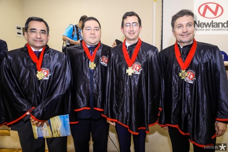 Jardosn Cruz, Carlos Paz, Roberto Victor Ribeiro e Rogerio Brito