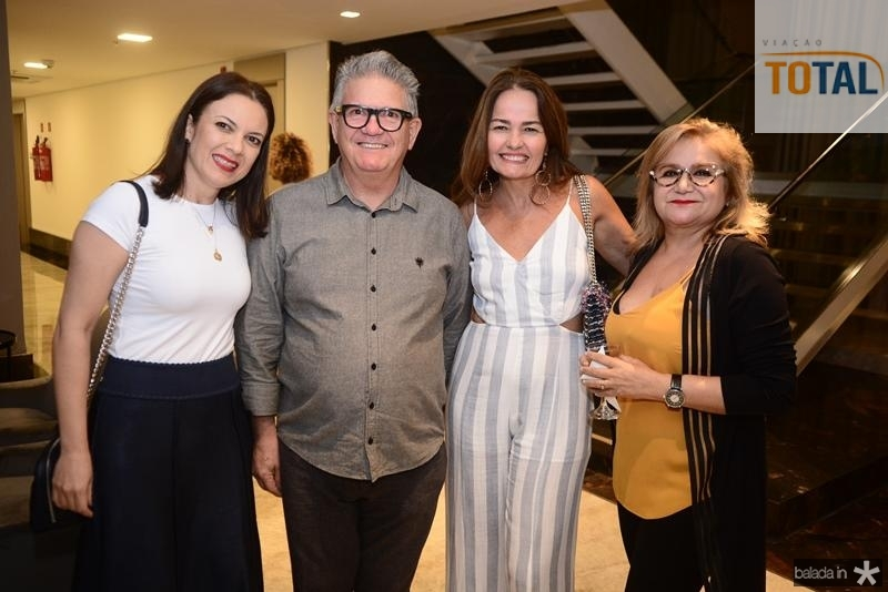 Manuela Correia,Argeu, Maria Claudia, Dulce Silveira