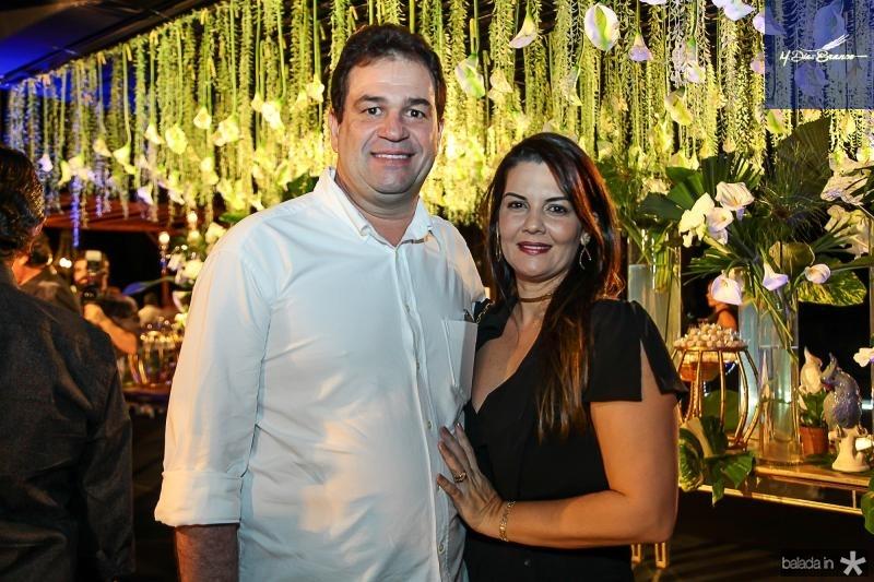 Ricardo e Sarah Brandao
