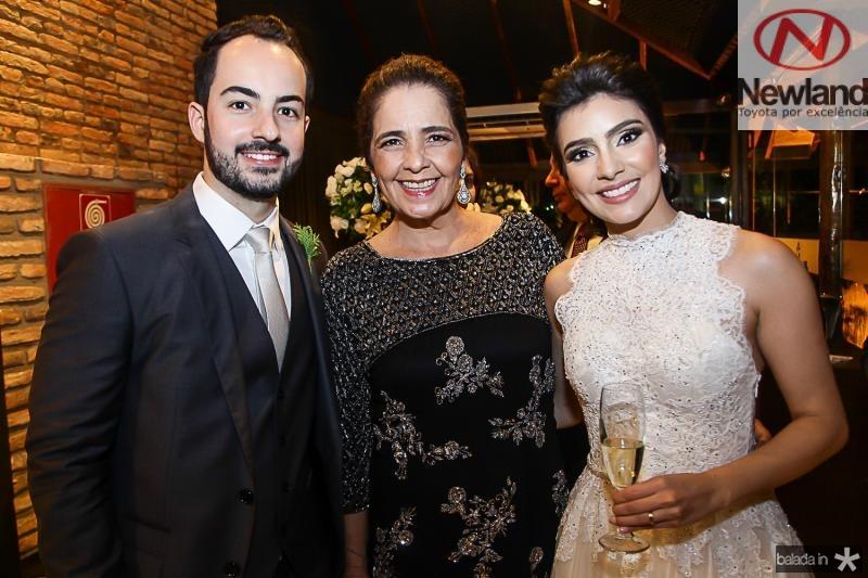 Felipe Barreira, Giana Studart e Beatriz Pontes