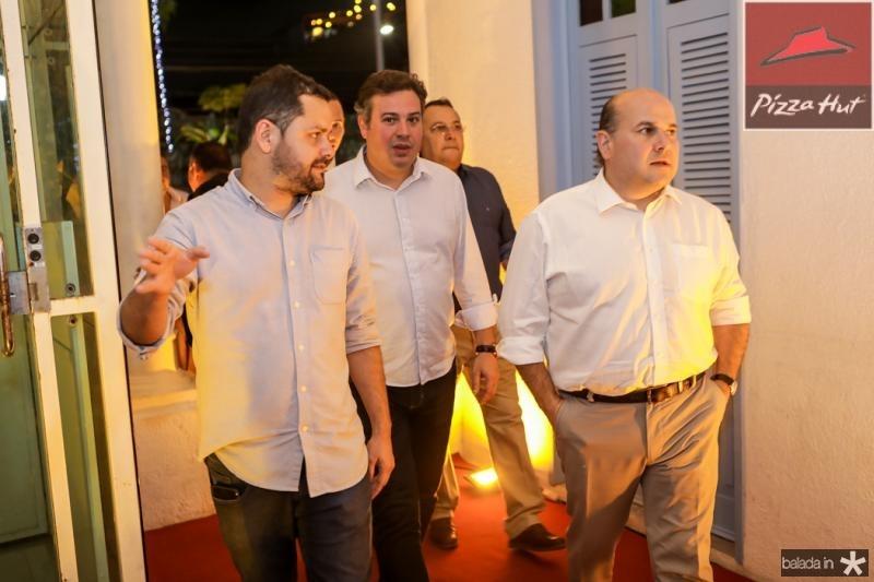 Davi Gomes, Samuel Dias e Roberto Claudio