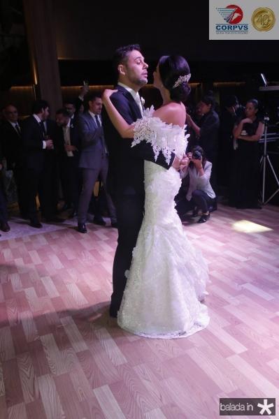 Gustavo Cruz e Tatiana Mendes