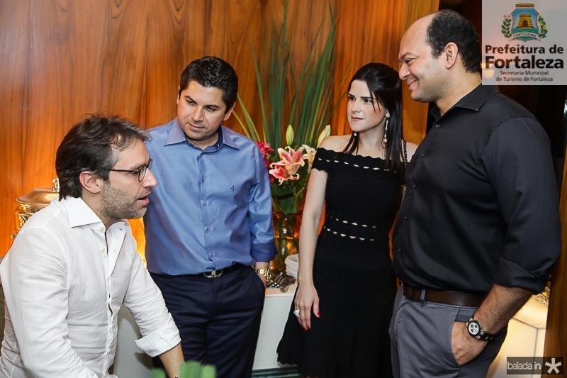 Francisco Marinho, Pompeu e Marilia Vasconcelos, Otilio Ferreira