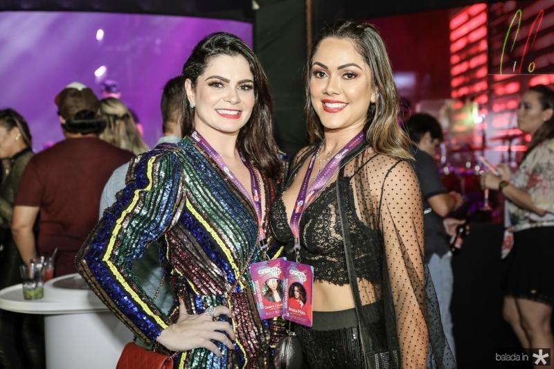 Desirre Cavalcante e Jessica Mota