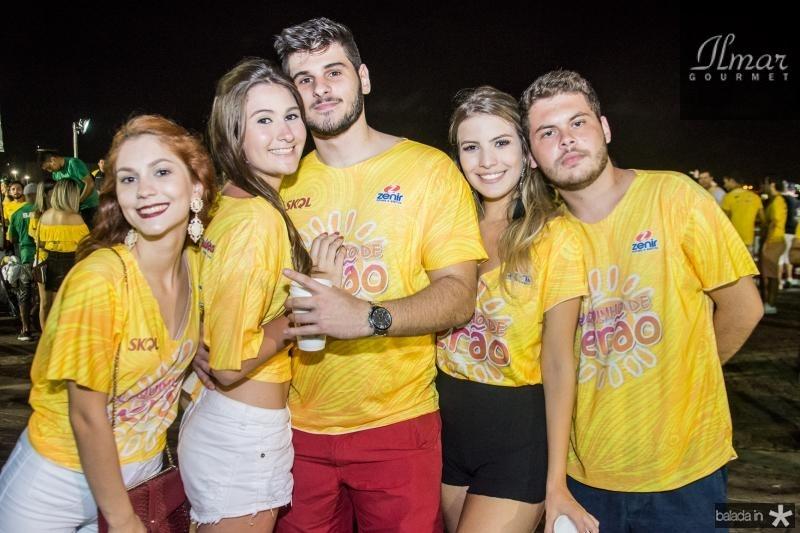 Paloma Vasconcelos, Lais Castelo Branco, Joao Gabriel, Gabriela Taumaturgo e Alexandre Amora
