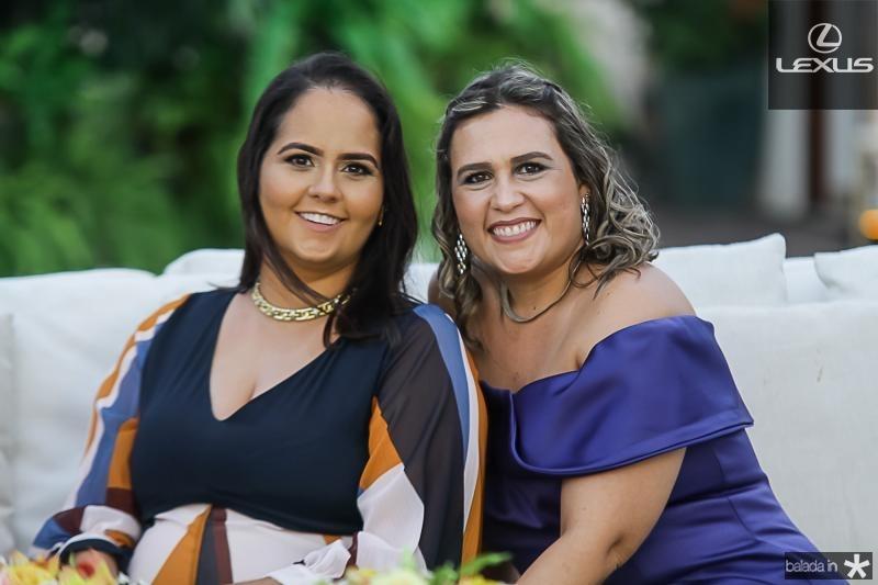 Carolina e Ana Leal